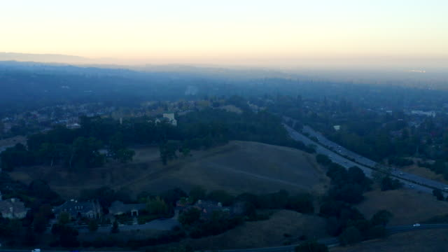 Smog from wildfires over Silicon Valley in September 2019. video