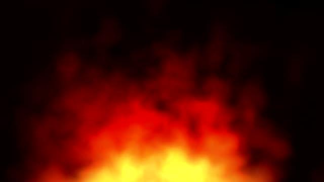火災煙の抽象的な背景 - 透明点の映像素材/bロール