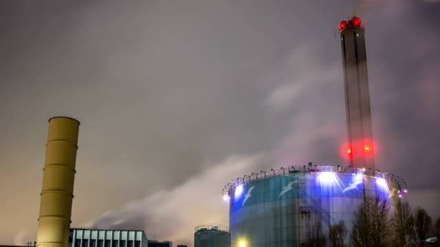 Smoke Air Pollution Time Lapse video