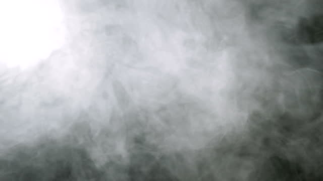 Smoke background. Abstract smoke cloud. Smoke in slow motion on black background video