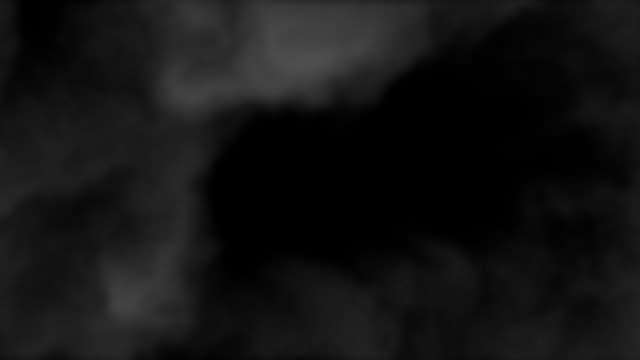 Smoke billows - 3 layers video