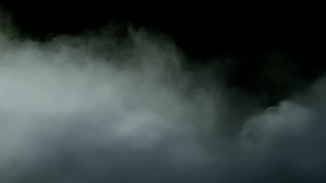 Smoke Clouds Clouds smoke fog in black background for different projects and events condensation stock videos & royalty-free footage