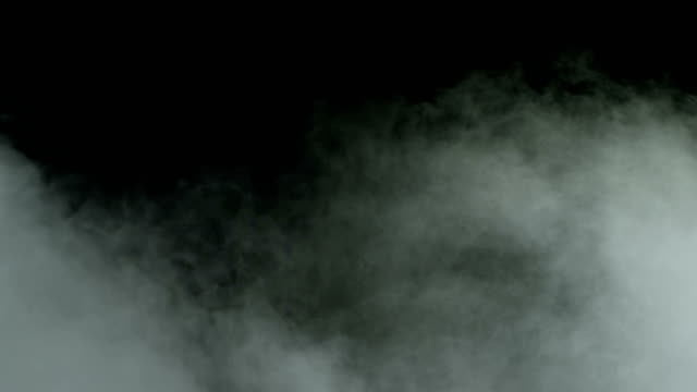 smoke clouds - nebbia video stock e b–roll