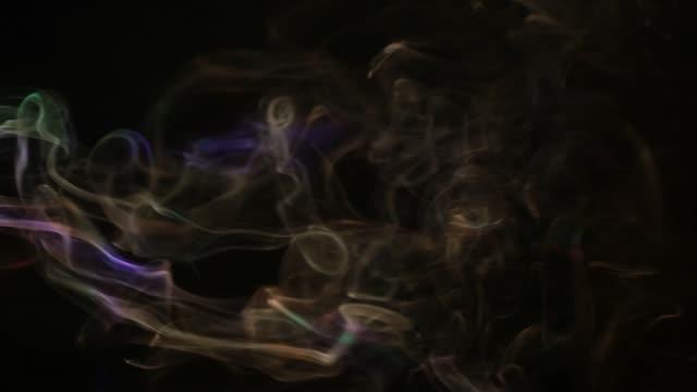 smoke dark background hd footage nobody - gaz filmów i materiałów b-roll