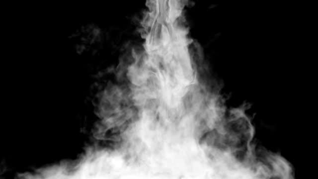 Smoke falling down video