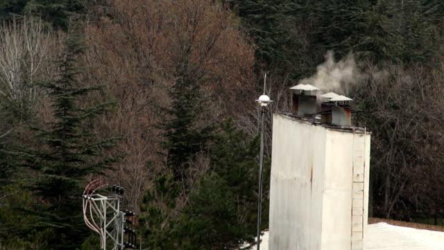 hd :スモークの煙突 - 煉瓦点の映像素材/bロール