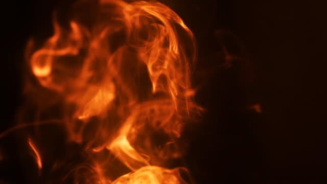 Smoke like flame video