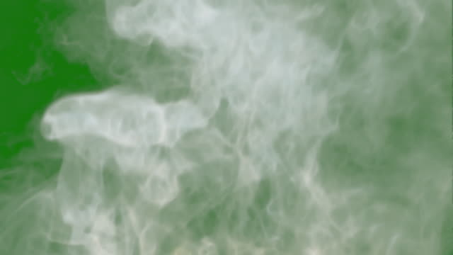 smoke making from fire. flowing from under to top. epic power. slow motion. good motion. - smog video stock e b–roll