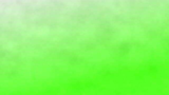 dym na zielonym tle ekranu, klucz chroma - para aranżacja filmów i materiałów b-roll