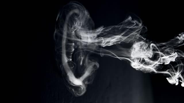 SLO MO Smoke ring video