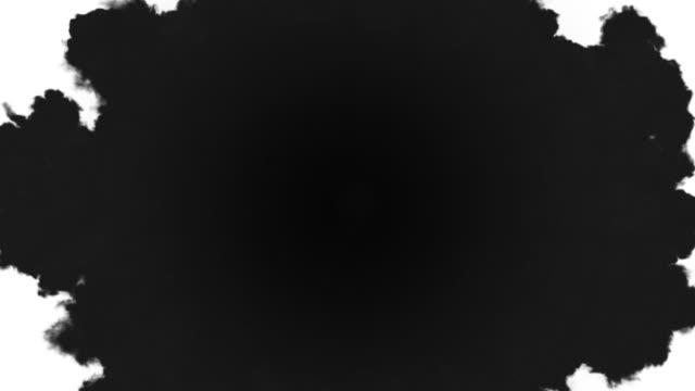 煙移行 mk 2 - 黒色点の映像素材/bロール