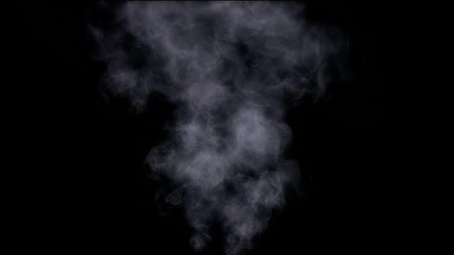 vídeos y material grabado en eventos de stock de de humo - transparente