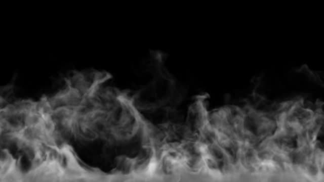Smokescreen Curtain of smoke steam stock videos & royalty-free footage