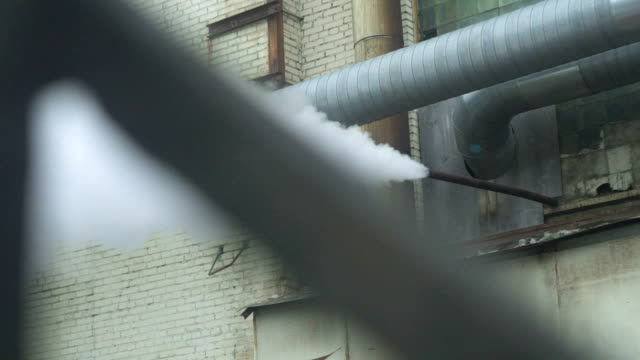 Smokestack Pollution In The Air video