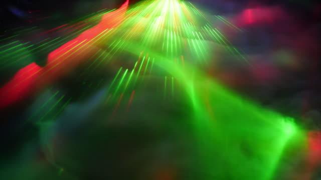 Smokey Night Club Lights video