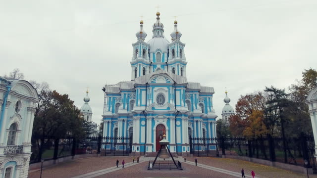 Smolny Cathedral of the Resurrection of Christ video