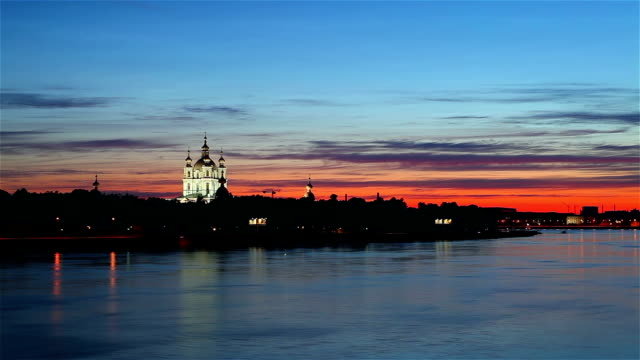 Smolny cathedral. St.Petersburg video