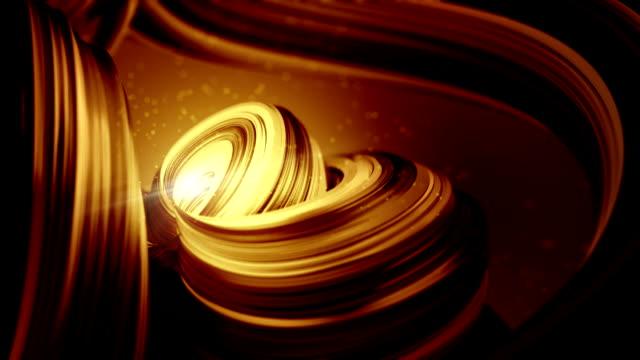 liscio caffè oro astratto sfondo bella d'affari - theobroma video stock e b–roll