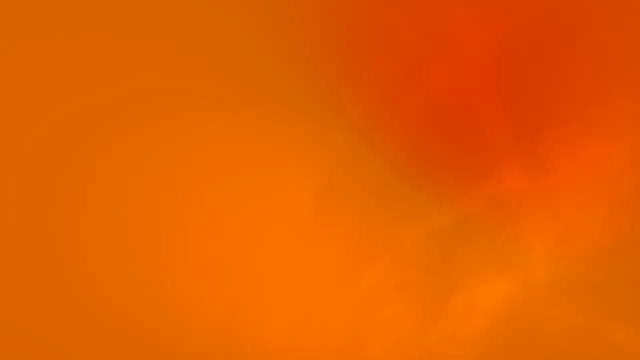 Smooth, clean and abstract, Looped gradient background 4k Video for Underwater, Ocean, Sky, Modern, Hypnotising, Organic and Fairy Tale Concepts - Orange Color Gradient