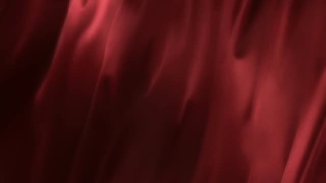 smooth flowing luxury satin shiny red fabric - seta video stock e b–roll