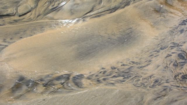 Smooth Flowing Stream in Sand Bed