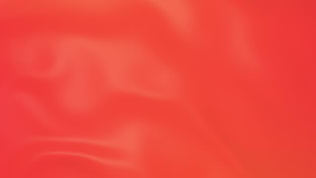 vidéos et rushes de surface lisse de tissu de soie fluide - sky