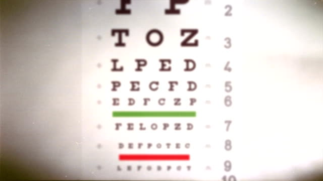 Snellen Eye Chart Animation 3840x2160 eye test chart animation eye chart stock videos & royalty-free footage