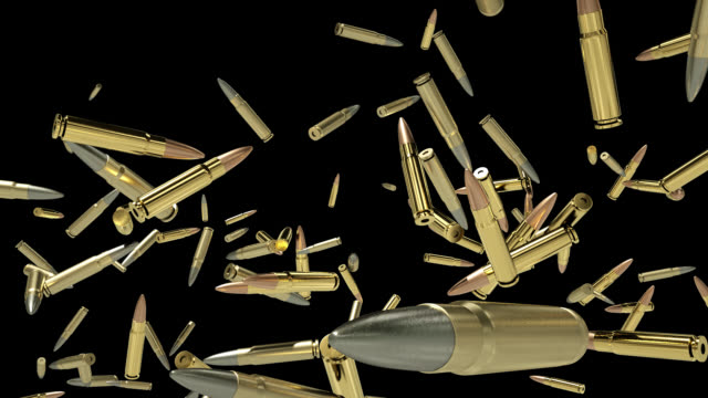 """Sniper bullets flying in slow motion, Alpha Channel attached Sniper bullets flying in slow motion, Alpha Channel attached. """"Alpha channel will be included when downloading the 4K Apple ProRes 4444 file only."""" silver metal stock videos & royalty-free footage"""