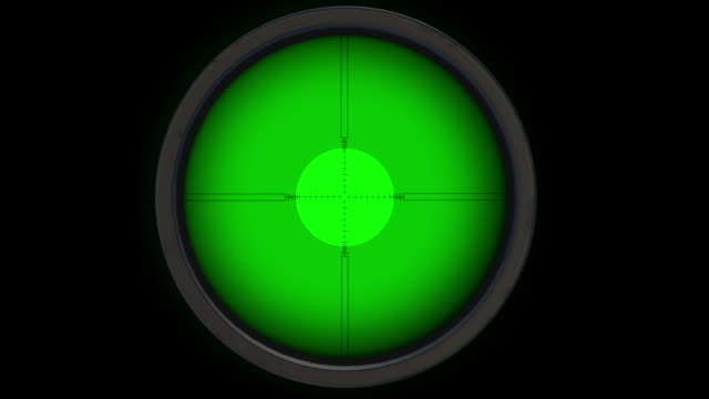 Sniper Scope. Gun Sight. Alpha Layer Included. Looped. Easy to use.