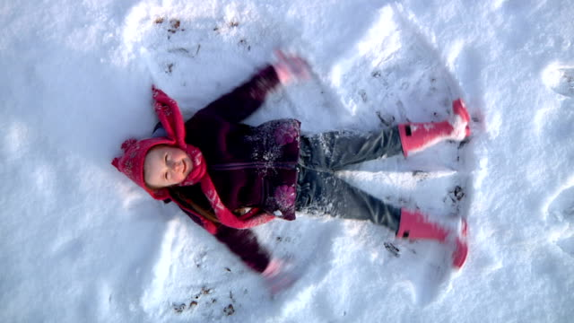 Snow angel video