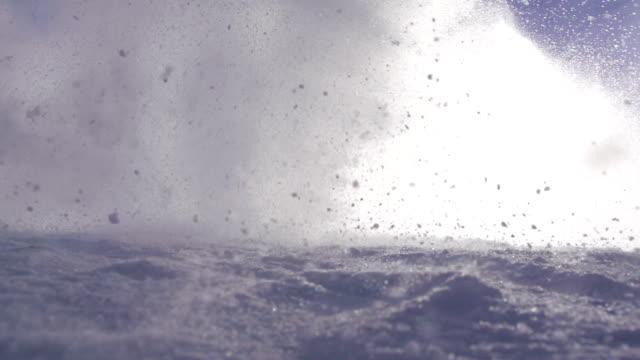 Snow avalanche video