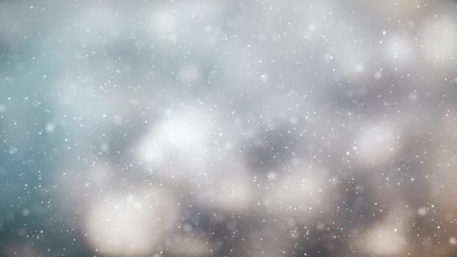 Schnee Hintergrund | Endlos wiederholbar – Video