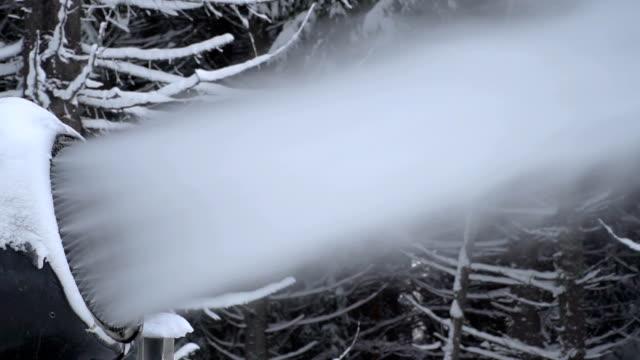 kar canon - mountain top stok videoları ve detay görüntü çekimi