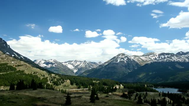 Snow Capped Mountain Range Pan video
