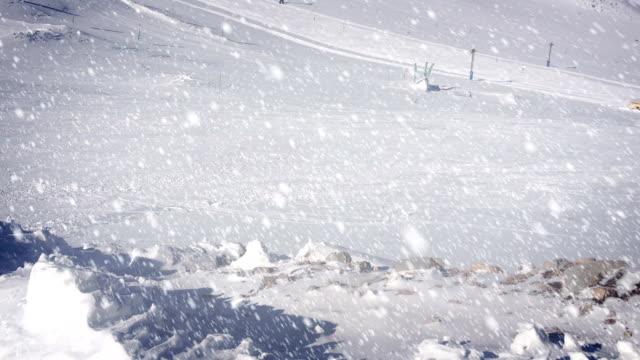 snow falling - loopable - djupsnö bildbanksvideor och videomaterial från bakom kulisserna