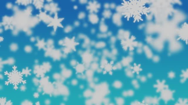 4K Snow Falling