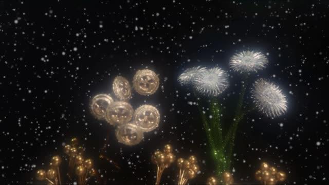 kar çiçeği 3 - donmuş su stok videoları ve detay görüntü çekimi