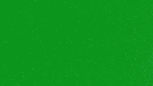 Snow Green Screen Loop video