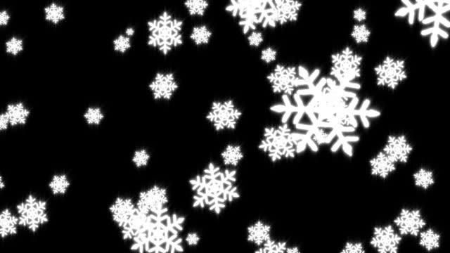 Snow #3 HD video