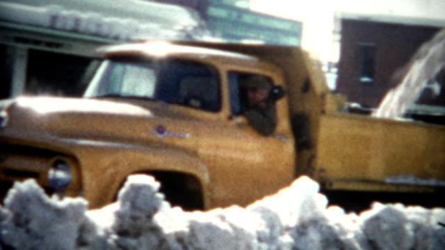 (8mm Film) Snow Removal 1968 Colorado video