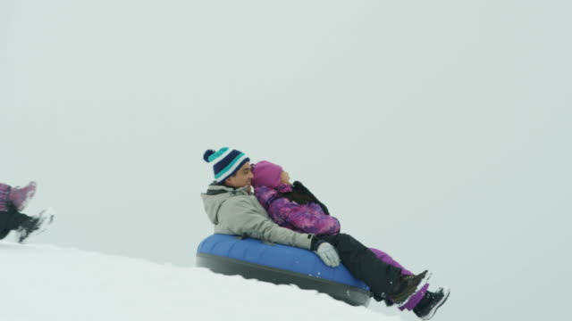Snow Tubing video