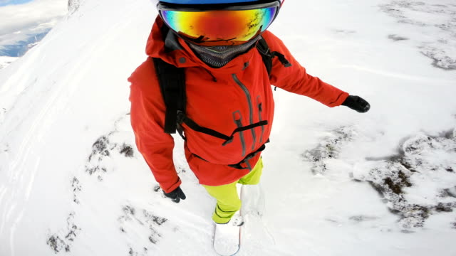 snowboarding drop