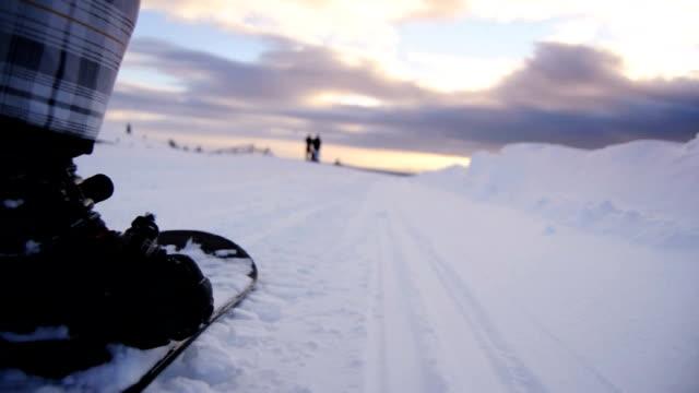 Snowboarding - POV video