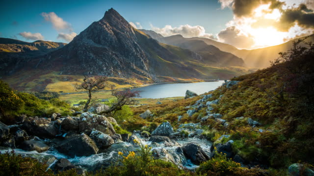 Snowdonia National Park in Wales, UK