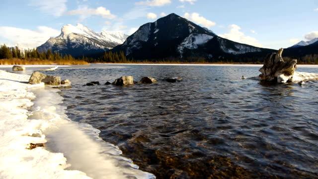 Snowed Lake video