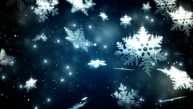 snowflake background. - снежинка стоковые видео и кадры b-roll