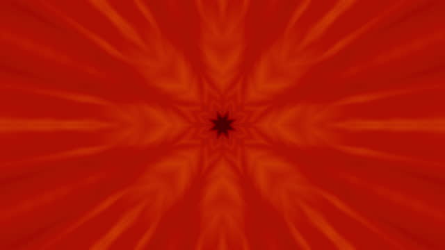 Snowflake Pattern  Kaleidoscope - Suitable vertical and horizontal format - stock video