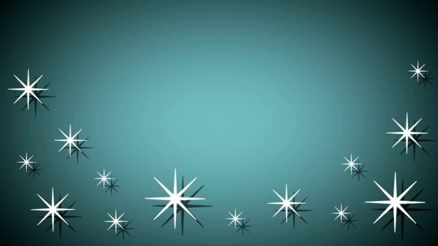 Snowflakes background video