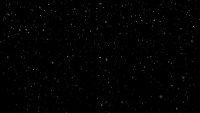 Snowflakes Falling Loop video