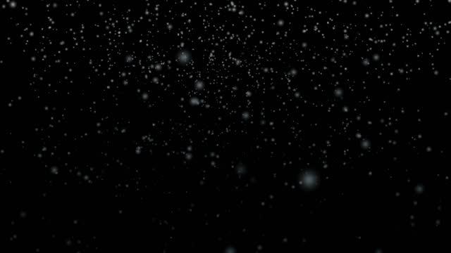 schneeflocken fallen - schneeflocken stock-videos und b-roll-filmmaterial